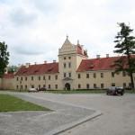 Вночі намагалися підпалити Жовківський замок